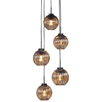 Lampa wisząca Neelaz 35x250 cm przydymiona