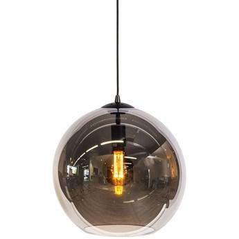 Lampa wisząca Walsh Ø40x160 cm - klosz przydymiony