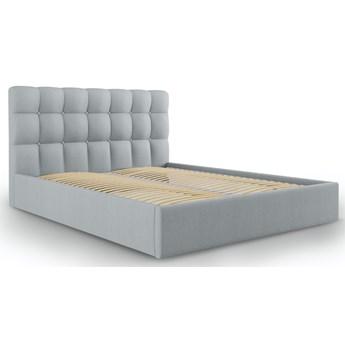 Łóżko Phaedra 140x200 cm jasnoszare