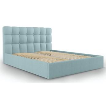 Łóżko Phaedra 160x200 cm jasnoniebieskie