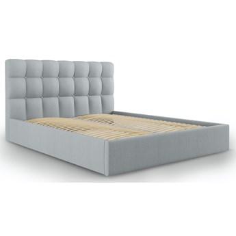 Łóżko Phaedra 180x200 cm jasnoszare