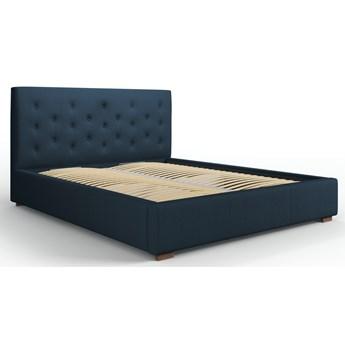 Łóżko z pojemnikiem Seri 160x200 cm niebieskie