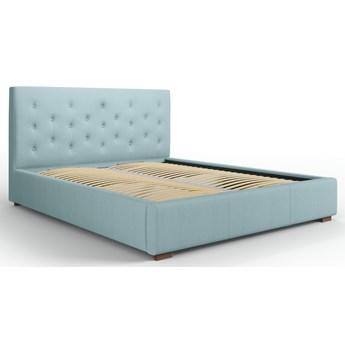 Łóżko z pojemnikiem Seri 180x200 cm jasnoniebieskie