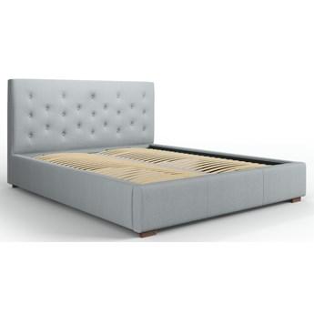Łóżko z pojemnikiem Seri 180x200 cm jasnoszare