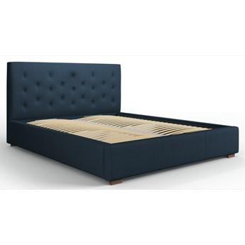 Łóżko z pojemnikiem Seri 180x200 cm niebieskie