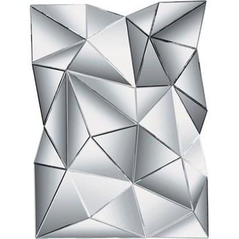 Lustro wiszące Prisma 140x105 cm srebrne