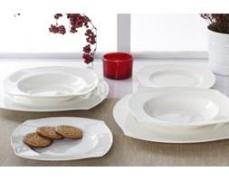 Serwis obiadowy LA LUNA BIANCO na 6 osób (18 el.)