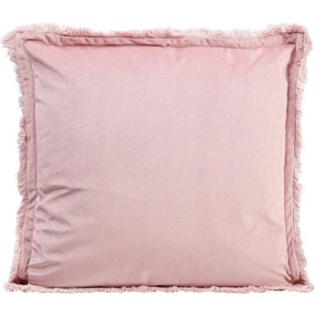 Poduszka dekoracyjna Luna 50x50 cm różowa