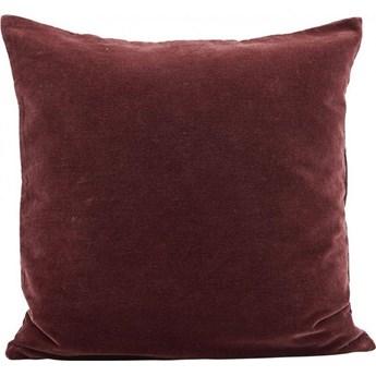 Poszewka na poduszkę Burnt 50x50 cm czerwona