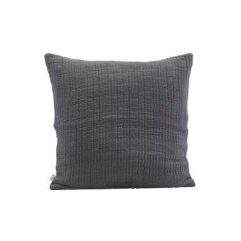 Poszewka na poduszkę Lia 50x50 ciemnoszara