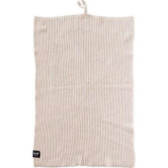 Ręcznik kuchenny Zone 50x38 cm szarobeżowy
