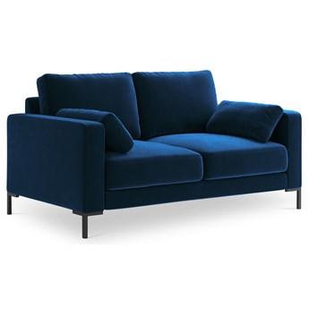 Sofa 2-os. Jade 158 cm królewski niebieski
