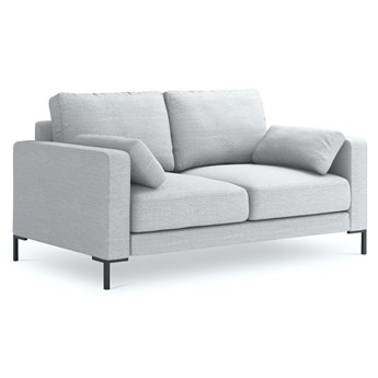 Sofa 2-os. Jade 158 cm srebrna Mag 10