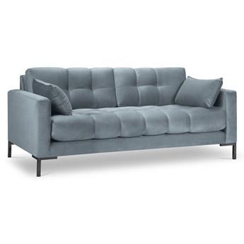 Sofa 2-os. Mamaia 152 cm niebieska
