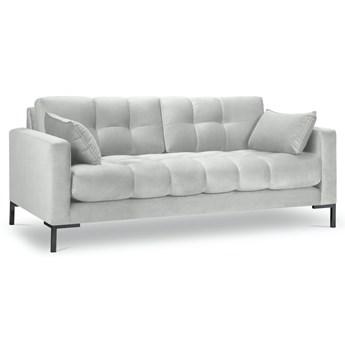 Sofa 2-os. Mamaia 152 cm srebrna