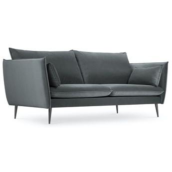 Sofa 3-os. Agate 183x97 cm ciemnoszara