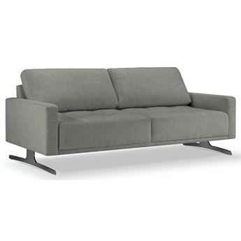 Sofa 3-os. Creo 192 cm ciemnoszara
