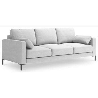 Sofa 3-os. Jade 220 cm srebrna Mag 10