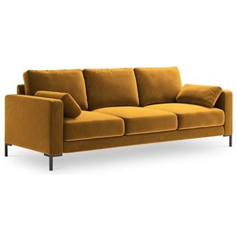 Sofa 3-os. Jade 220 cm złota