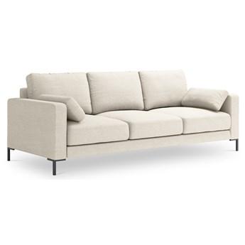 Sofa 3-os. Jade 220x90 cm beżowa