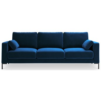 Sofa 3-os. Jade 220x90 cm niebieska