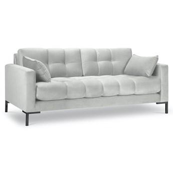 Sofa 3-os. Mamaia 177 cm srebrna