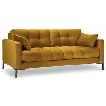 Sofa 3-os. Mamaia 177 cm żółta