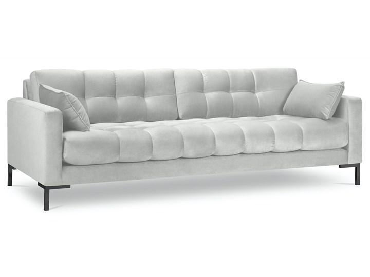 Sofa 4-os. Mamaia 217 cm srebrna Głębokość 40 cm Pomieszczenie Salon