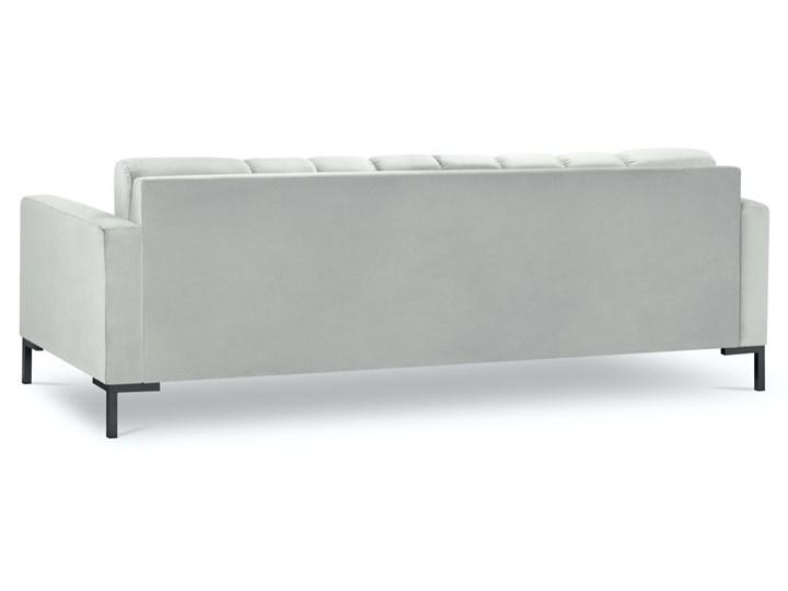 Sofa 4-os. Mamaia 217 cm srebrna Nóżki Na nóżkach Głębokość 40 cm Pomieszczenie Salon