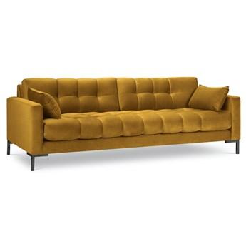 Sofa 4-os. Mamaia 217 cm żółta
