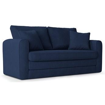 Sofa rozkładana 2-os. Lido 158 cm granatowa