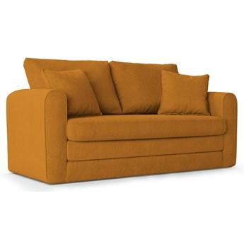 Sofa rozkładana 2-os. Lido 158 cm pomarańczowa
