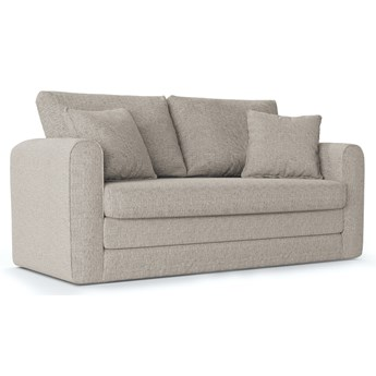 Sofa rozkładana 2-os. Lido SF 158 cm jasnoszara