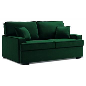 Sofa rozkładana 2-os. Massi 178 cm butelkowa zieleń