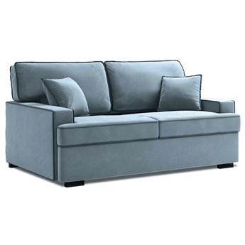 Sofa rozkładana 2-os. Massi 178 cm jasnoniebieska
