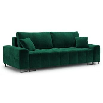 Sofa rozkładana 3-os. Byron 250 cm butelkowa zieleń