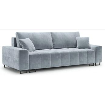 Sofa rozkładana 3-os. Byron 250 cm jasnoniebieska