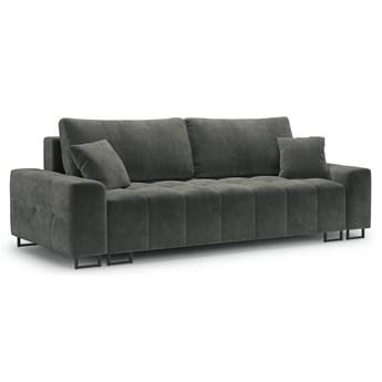 Sofa rozkładana 3-os. Byron 250 cm szara