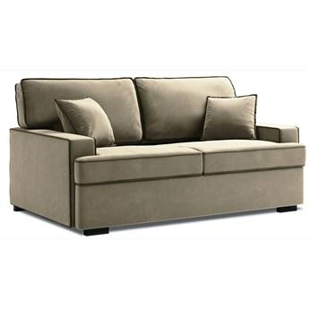 Sofa rozkładana 3-os. Massi 198 cm beżowa-czarna