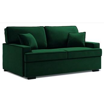 Sofa rozkładana 3-os. Massi 198 cm butelkowa zieleń