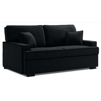 Sofa rozkładana 3-os. Massi 198 cm czarna