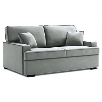 Sofa rozkładana 3-os. Massi 198 cm szara