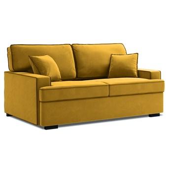 Sofa rozkładana 3-os. Massi 198 cm żółta