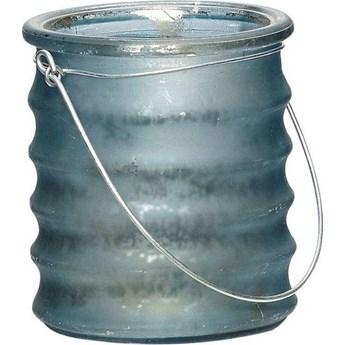 Świecznik Glass 8x9 cm ciemnoszary