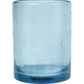 Wazon Cozy Cora Light 15x20 cm transparentny niebieski