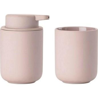 Zestaw łazienkowy Ume (2-set) różowy