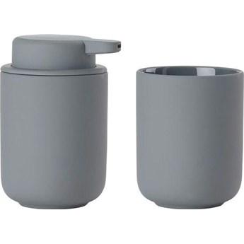 Zestaw łazienkowy Ume (2-set) szary - grey