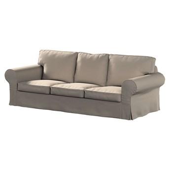 Pokrowiec na sofę Ektorp 3-osobową, nierozkładaną, ciepły szary, 218 x 88 x 73 cm, Living