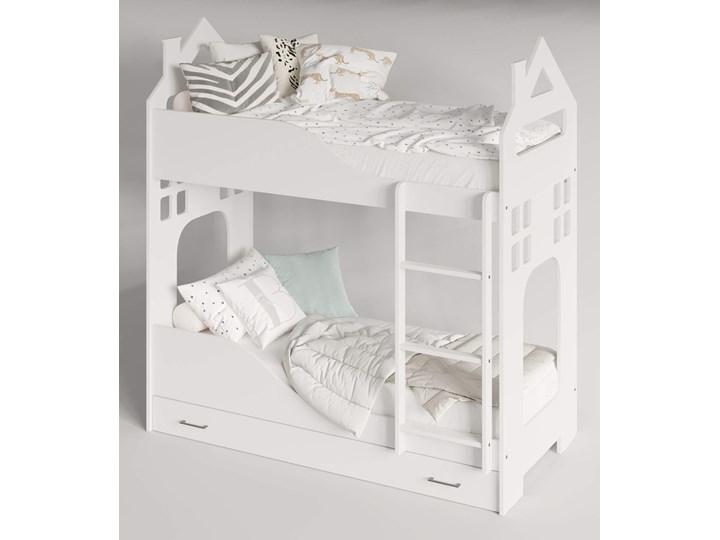 Łóżko piętrowe Evert Rozmiar materaca 80x180 cm Kategoria Łóżka dla dzieci