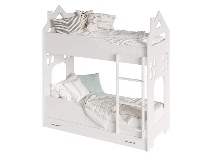 Łóżko piętrowe Evert Rozmiar materaca 80x160 cm Rozmiar materaca 80x180 cm